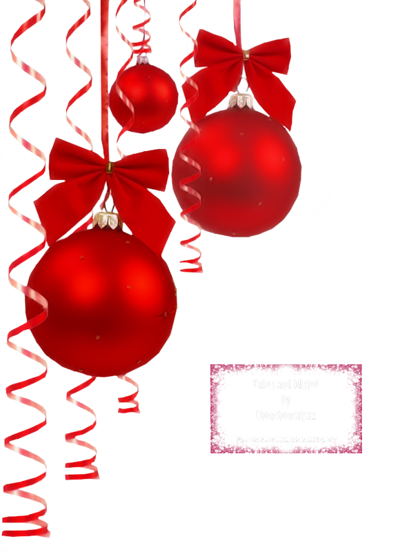 Tubes decos pour creations noel - Image decoration de noel ...