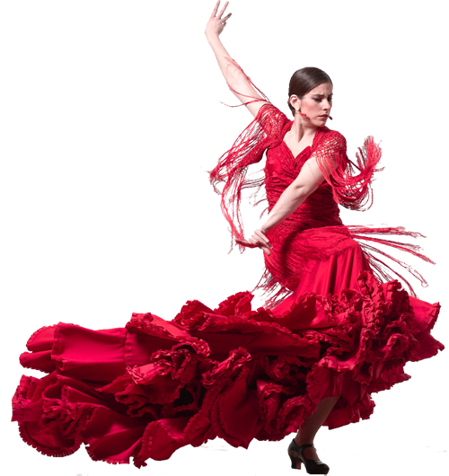 Tubes femmes debout danseuse de flamenco - Dessin danseuse de flamenco ...
